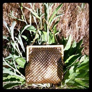 Vintage Golden tiny purse